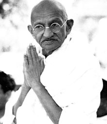 Tributes to Gandhi